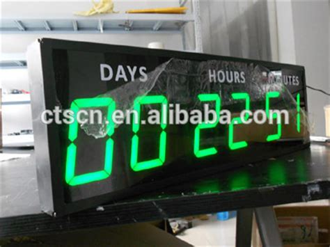 outdoor christmas countdown digital clock led digital custom countdown countdown clock outdoor buy countdown clock