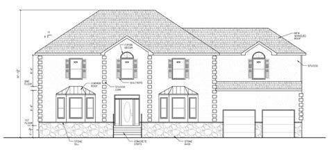 draft a blueprint of your home steve paul l l c nj autocad architectural drafting services in central and south jersey nj