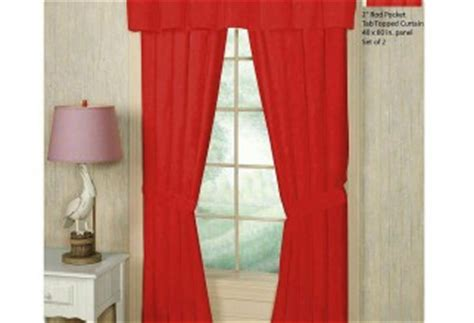 bright red curtains pottery barn teen curtains furniture ideas deltaangelgroup