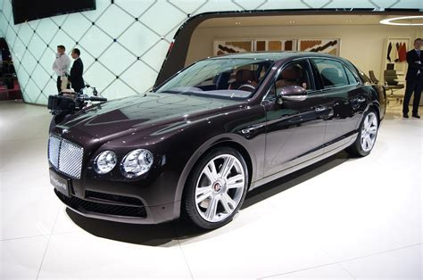 bentley flying spur bentley flying spur adds turbo v 8 bows at geneva motor