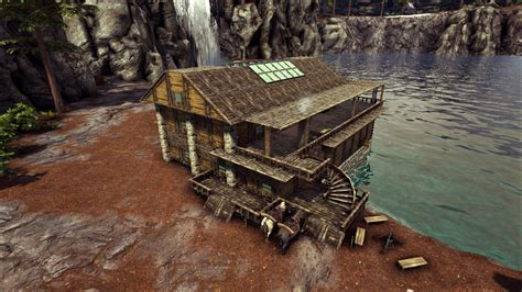 how to build a boat on ark ark how to build a boathouse base no mods base design