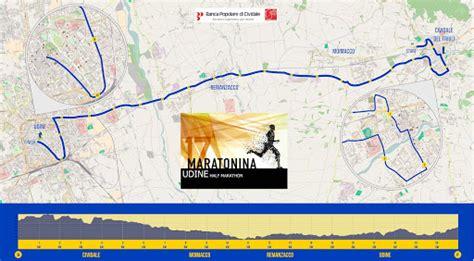 banca di cividale remanzacco il friuli la maratonina presenta il nuovo percorso di gara