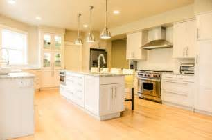Ikea Cabinets Kitchen Ikea Ramsjo White Cabinets Wolf Range Contemporary Kitchen Portland By Webb