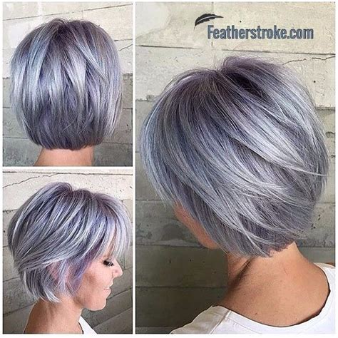 hairstyles for dyed grey hair so beautiful shades of grey pinterest hair style