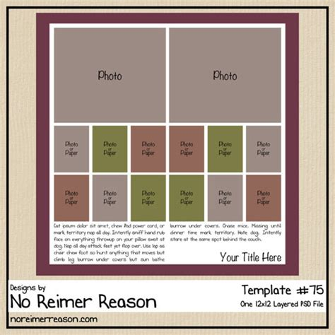 digital scrapbooking templates no reimer reason my about digital scrapbooking and
