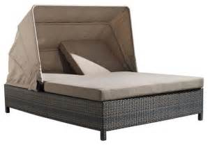 zuo home patio siesta key chaise lounge espresso modern outdoor chaise lounges