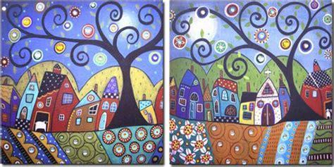 cuadros banak decoraci 243 n pinturas naif imagui