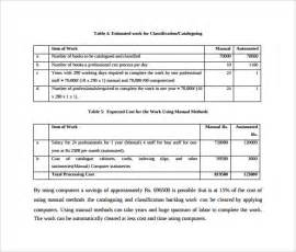 cost benefit analysis template 14 download free