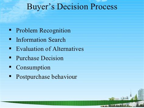 Consumer Motivation Mba by Consumer Behaviour Ppt Bec Doms Bagalkot Mba
