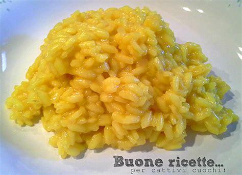 come cucinare il risotto allo zafferano risotto allo zafferano