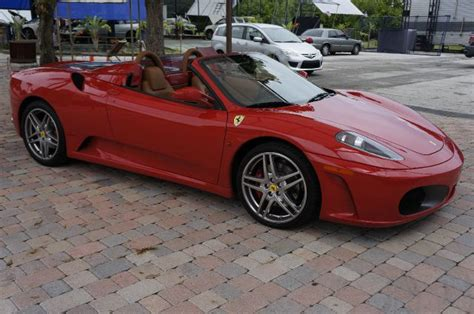 2006 ferrari f430 spider convertible 2d pictures and videos kelley blue book sell used 2006 ferrari f430 f1 spider red convertible 2 door 4 3l daytona in hollywood florida