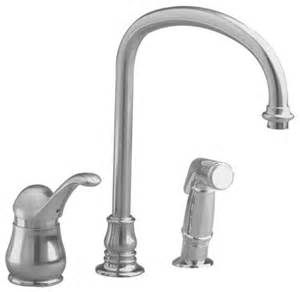 High Flow Kitchen Faucet American Standard Jasmine Single Control Kitchen Faucet