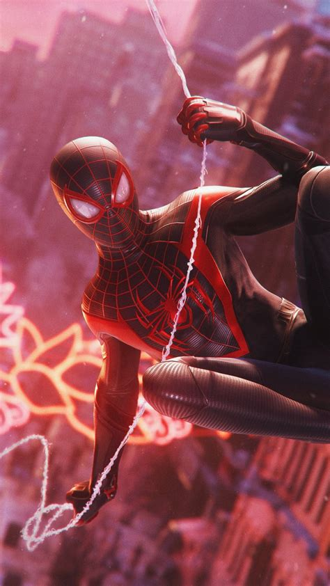 wallpaper spider man miles morales gameplay ps