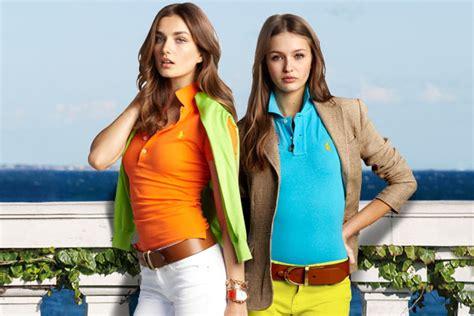 Fashion Wanita Blue Leisure Top the new polo ralph style guide