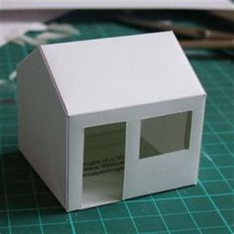 How Do You Make A Paper House - 1000 images about glitter putz houses on