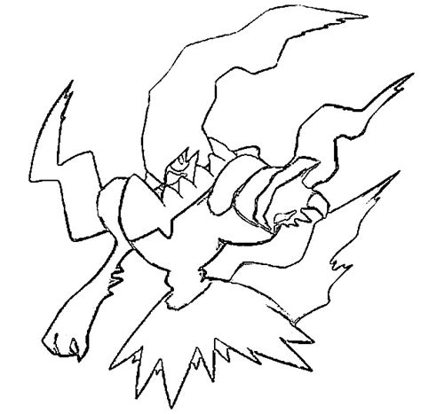 pokemon darkrai coloring pages coloring pages