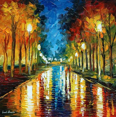 color reflections painting by leonid afremov