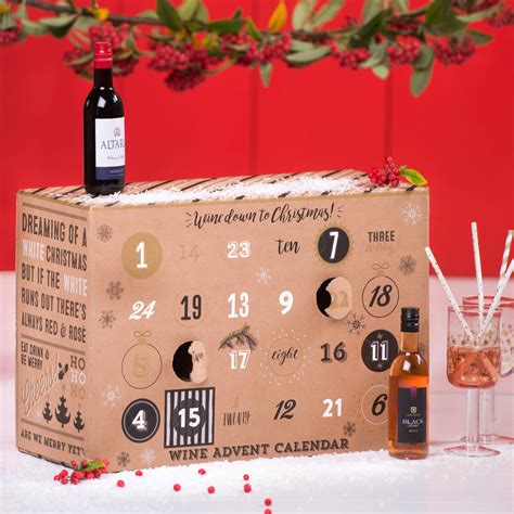 wine down to christmas advent calendar by
