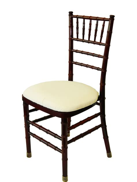 Mahogany Chiavari Chairs chair rentals cook party rentals rent your chair today