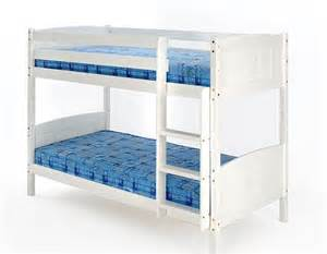 Bunk Bed Wood Frame In White 3ft Rosa Bunk Bed Wood Frame In Pine Or White 3ft Christopher 2