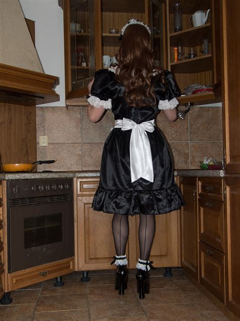 tumblr feminized at work sissy maid allyson dionnespet maids at work