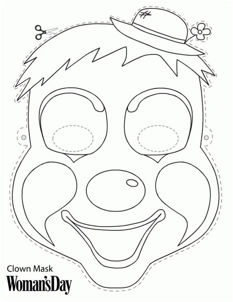 printable turkey face mask turkey face template coloring home