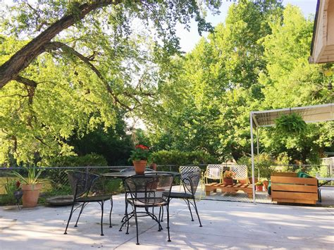 mid century modern patio mid century modern ranch home creating a modern eclectic