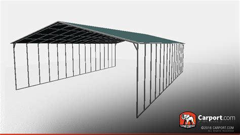 Metal Carport Roof Panels metal carport with vertical roof panels 40 x 60 roof panels info