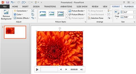 format audio for powerpoint format tab for audio clips in powerpoint 2013 for windows