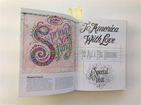 typography sketchbooks margaret cusack from typography sketchbooks steven heller and lita talarico sketchbooks