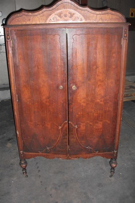 vintage wardrobe armoire antique wardrobe armoire chifferobe dresser closet