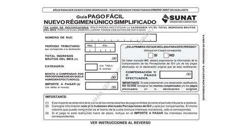 formato 3 1 sunat guia pago facil nuevo rus pdf google drive