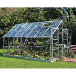 serre de jardin 11 5m 178 en verre tremp 233 magnum halls