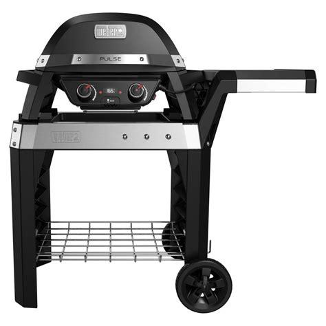 weber grill wagen weber pulse 2000 rollwagen mit 2200 watt power