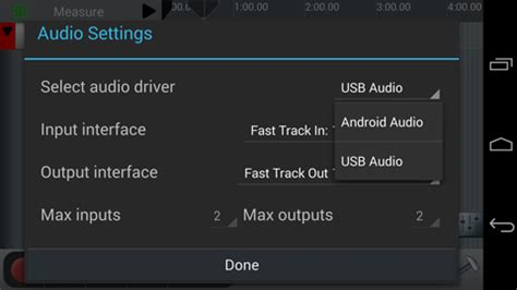 android usb settings n track for android user guide