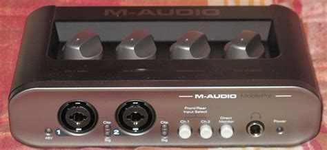 M Audio Mobilepre Usb m audio mobilepre mkii image 313976 audiofanzine