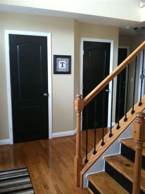 best 25 paint doors black ideas on black
