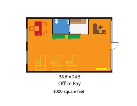 how big is 1000 square feet centre at cutler bay office retail rental price