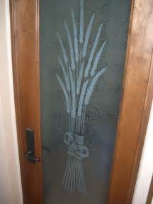 Pantry Doors With Etched Glass by Sans Soucie Glass Studios Inc Pantry Door Glass