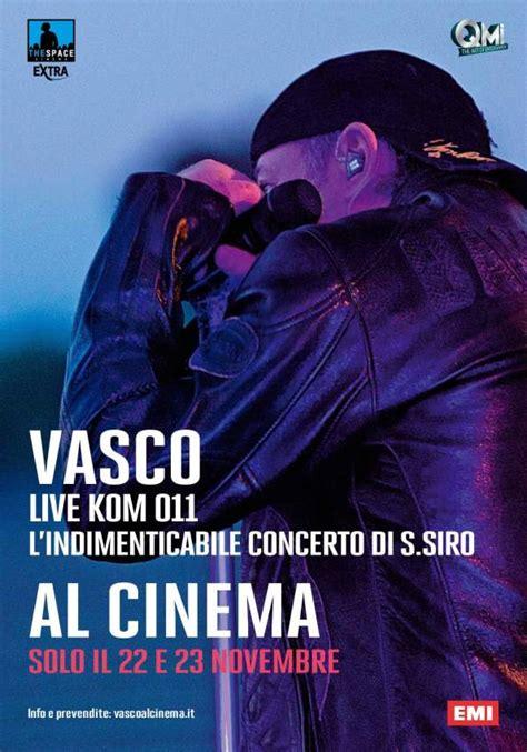 ultimo cd di vasco vasco live kom 011 album cinema