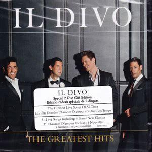 il divo greatest hits il divo discograf 237 a de il divo con discos de estudio
