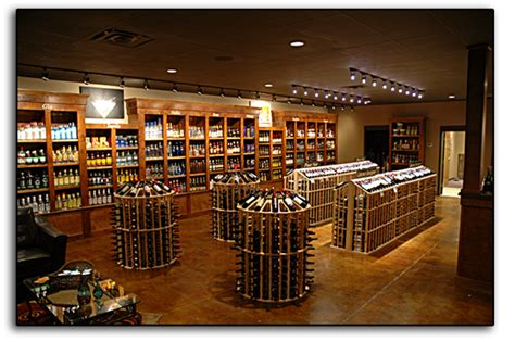 wine store design scotty s wine spirits all decked out