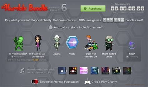 humble bundle android app app of the week humble bundle 6 for android cheapmobilesuk