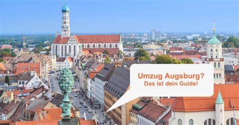 Wohnung Mieten Augsburg Univiertel by Umzug Augsburg Das Musst Du Wissen Umzugcheckliste Org