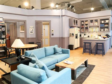 seinfeld appartment seinfeld s famous apartment recreated in nyc abc news