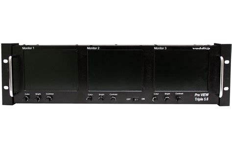 Rack 5500 Series by Vaddio 999 5500 003 Preview 5 6 Lcd Rack Mount