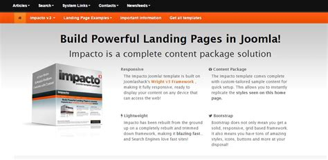 how to create landing pages in joomla tti trends