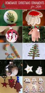 Home Made Christmas Decorations For Kids Diy Homemade Christmas Ornaments For Kids To Make