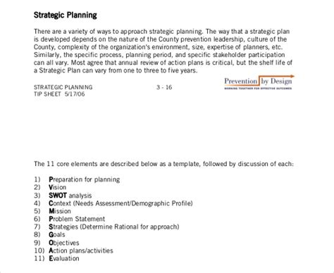 strategic plan template not for profit archives thepiratebayelectronic