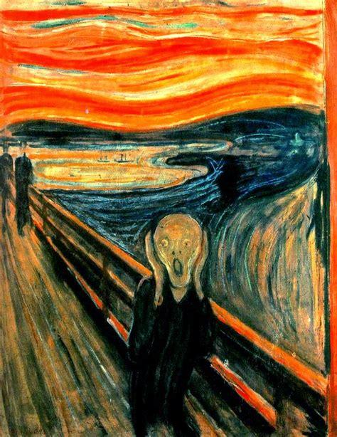 el grito de la puertas a la imaginaci 211 n pintando la obra quot el grito quot de edvard munch